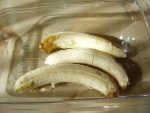 Банановый кекс рецепт_очистить бананы