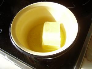 Банановый кекс рецепт_растопить маргарин