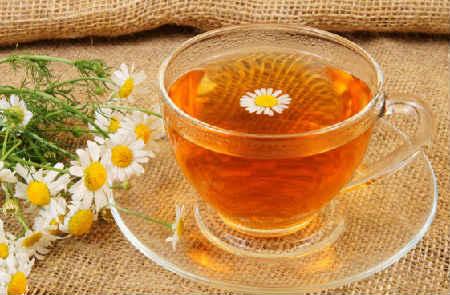 _чай из ромашки аптечной