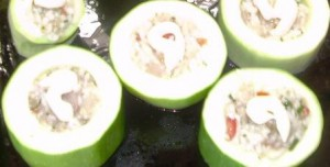 Вкусные кабачки_с фаршем
