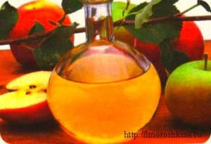 Народные средства при климаксе_яблочный уксус