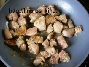 Чанахи в горшочках_жарка мяса