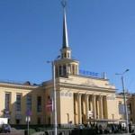 Город Петрозаводск- железнодорожный вокзал