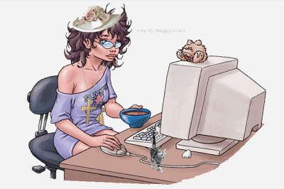 Как стать блогером_женщина