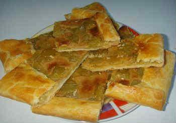 Рецепты из ревеня_пирог