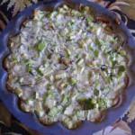 Приготовление кабачков- готовое блюдо