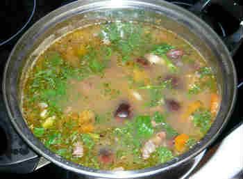 Полезные свойства фасоли_суп