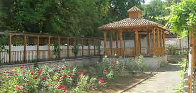 Ханский дворец в Бахчисарае_беседка