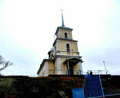 Сретенский храм, здание
