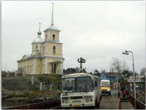 Сретенский храм, вид с горы