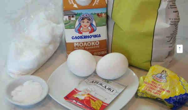 Рецепт пасхального кулича с фото_продукты