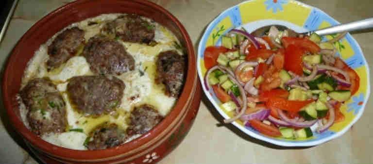 Гречаники с фаршем рецепт с фото_тушим и подаем с салатом