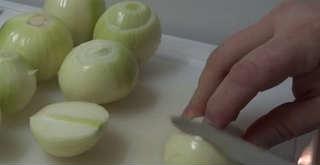 Как правильно резать лук