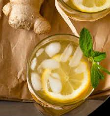 Лимонад в домашних условиях-с имбирем