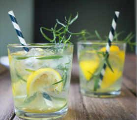 Лимонад в домашних условиях-с тархуном