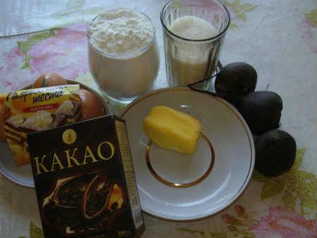 Маффины с какао_рецепт