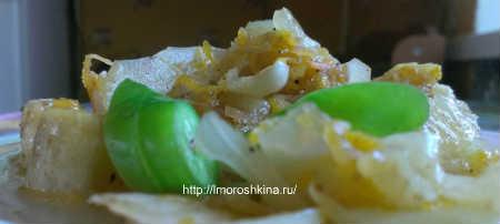 Салат из кабачков по корейски на зиму_риготовление