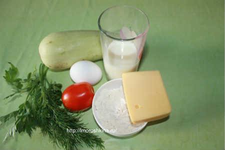 Запеченные кабачки с помидорами и сыром_ рецепт запеканки