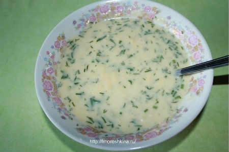 Запеченные кабачки с помидорами и сыром_добавляем муку