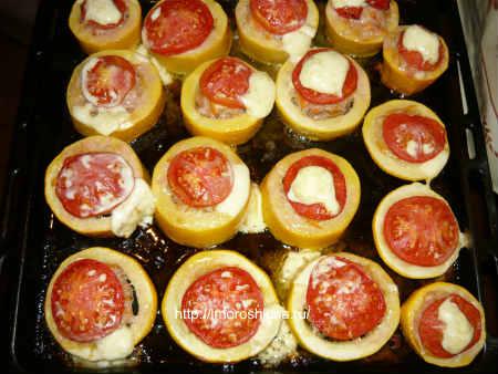 Рецепт фаршированных кабачков с фаршем в духовке, в духовке