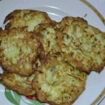 Лепешки из кабачков_готовое блюдо