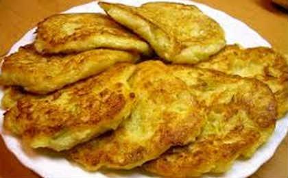 Блюда из кабачков быстрые рецепты_оладьи