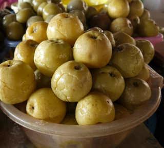 Моченые яблоки на зиму_простой рецепт