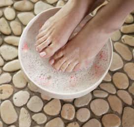 Перекись водорода для пяток_ ванночка для ног
