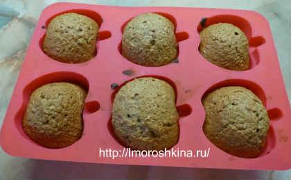 Шоколадные кексики_испечь в духовке