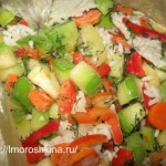 Заморозка кабачков на зиму_рецепт