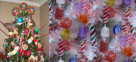 Как украсить елку на Новый год 2016_сладкие украшения
