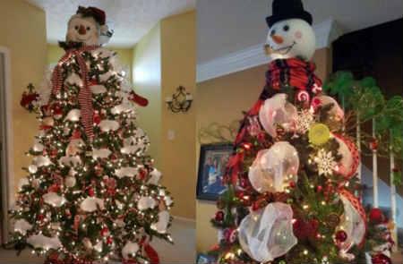 Как украсить елку на Новый год 2016_веселые снеговики