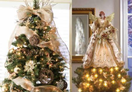 Как украсить елку на Новый год 2016_украшение макушки
