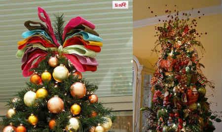 Как украсить елку на Новый год 2016_макушка елки