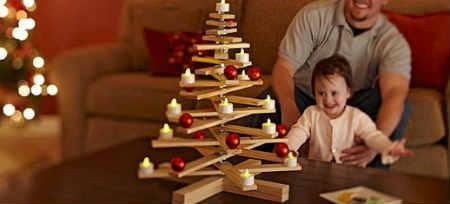 Как украсить елку на Новый год 2016_скандинавский стиль