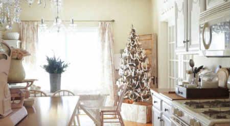 Как украсить елку на Новый год 2016_стиль прованс