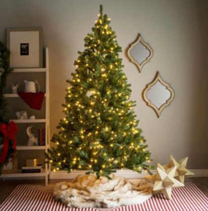 Как украсить елку на Новый год 2016_европейский стиль
