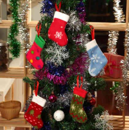 Как украсить елку на Новый год 2016_ стиль кантри