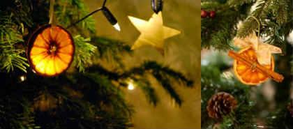 Как украсить елку на Новый год 2016_эко-стиль