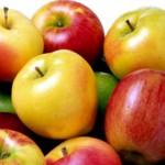 Кексы с яблоками_приготовление