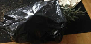Куда девать елку_ упаковать в полиэтиленовый пакет