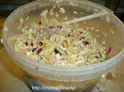 Рецепт маринованной домашней капусты, очень вкусной_залить маринадом
