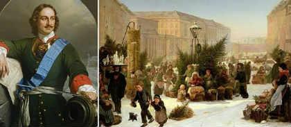 Традиция празднования Нового года_ в России