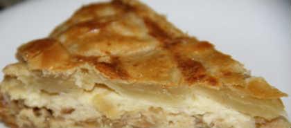 Пирог с луком и сыром_приготовление