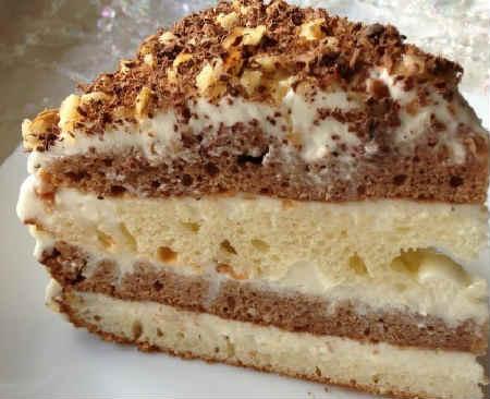 Сметанник рецепт классический простой_торт пошагово