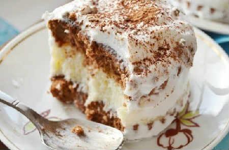 Быстрый торт со сметаной