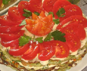 Кабачковый торт рецепт с фото пошагово_ставим для пропитки в холодильник