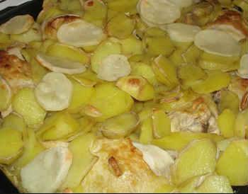 Кабачки в духовке рецепты быстро и вкусно_с кабачками и картошкой