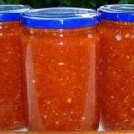 Приготовление аджики в домашних условиях на зиму_из помидор без варки