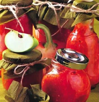 Приготовление аджики в домашних условиях на зиму_классический с яблоками